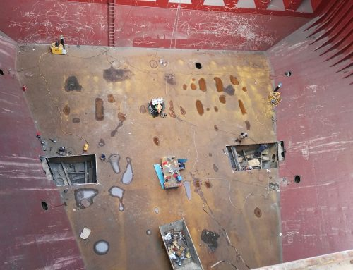 Bottom Ship Patchy of dry bulk